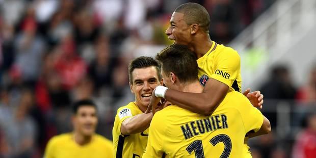 Ligue 1: le PSG poussif, Saint-Etienne grimpe sur le podium - La DH