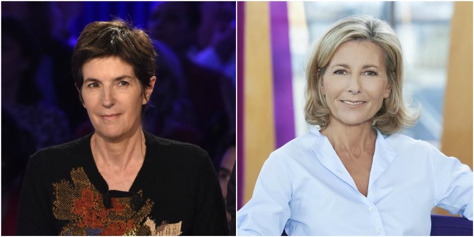 Christine Angot remplacée par Claire Chazal —