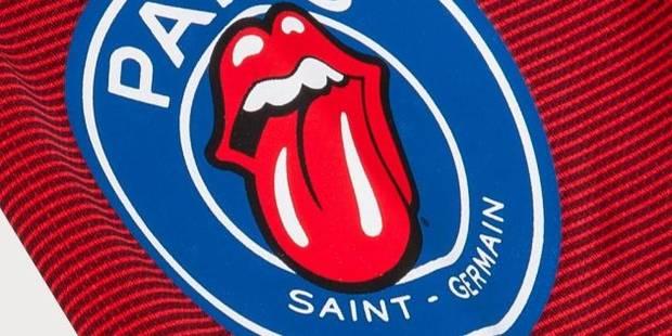 Les Rolling Stones et le PSG font équipe pour une collection de vêtements sport et rock'n'roll - La DH