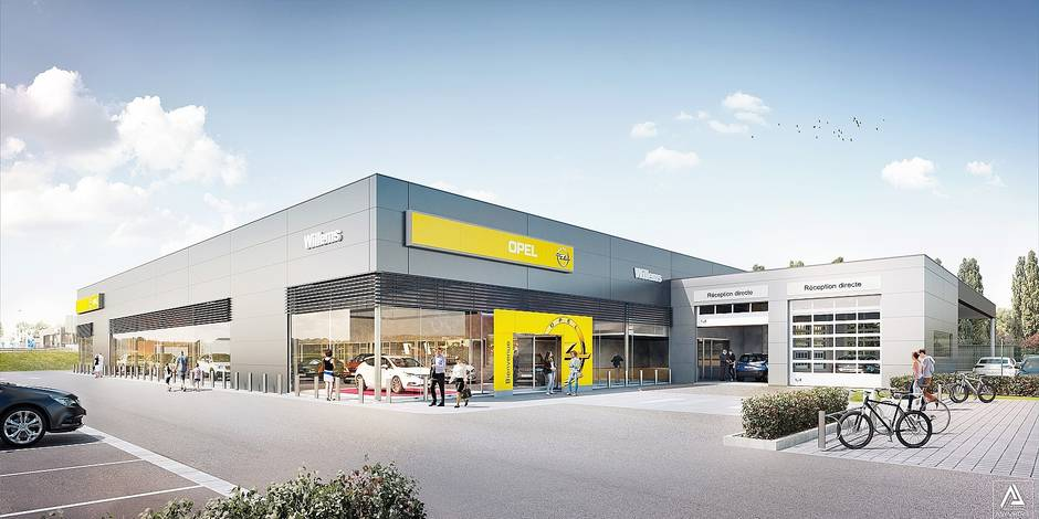 Willems investit 5 millions d dans une nouvelle for Garage opel region parisienne