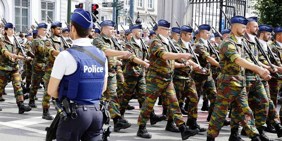 Le transfert des militaires vers la police est enclenché - La DH