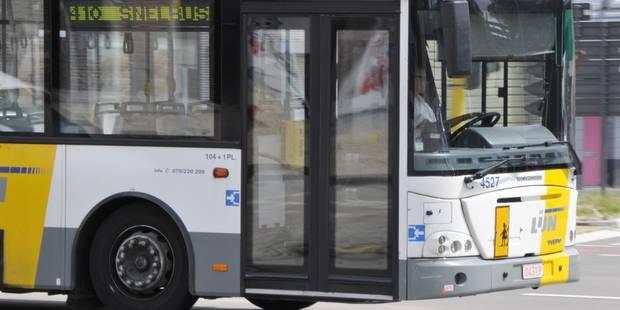 Un bus De Lijn ciblé par des tirs à Anderlecht - La DH