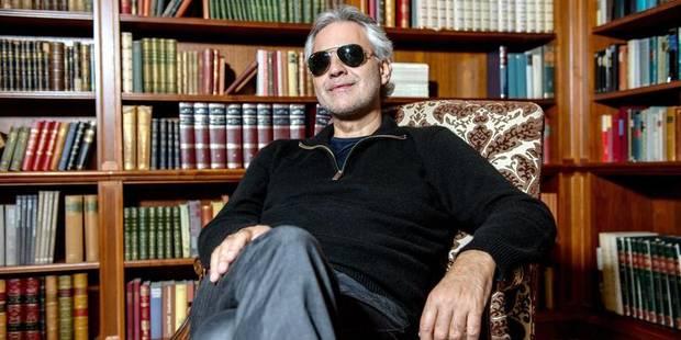 """Andrea Bocelli: """"Je suis un grand émotif"""" - La DH"""