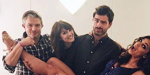 Tatiana Silva soutenue par ses amis de la RTBF - La DH