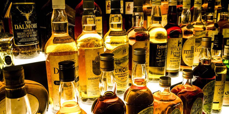 Près de 700 000 euros de whisky volés à Paris