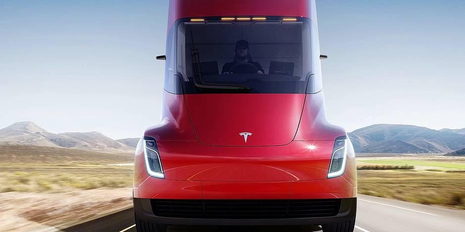 Tesla dévoile son modèle de camion électrique