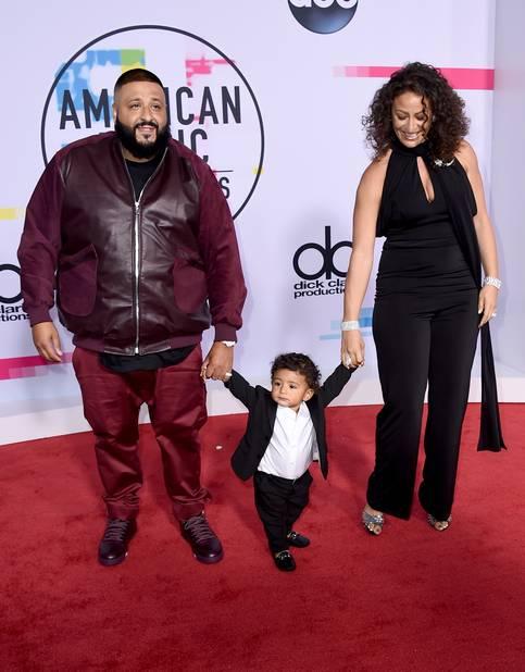 DJ Khaled heureux d'être là... en famille
