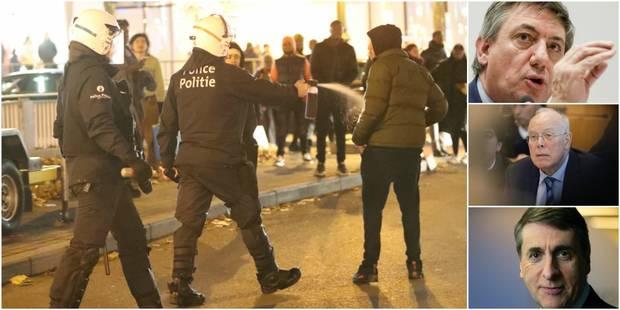 Incidents avenue Louise à Bruxelles: le monde politique réagit avec fermeté - La DH
