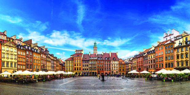 Varsovie historique et touchante - La DH