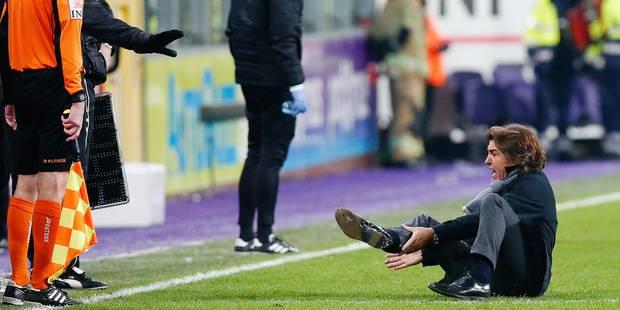 """Sa Pinto répond à Vanhaezebrouck: """"Je n'ai pas fait de théâtre, je suis un guerrier"""" - La DH"""