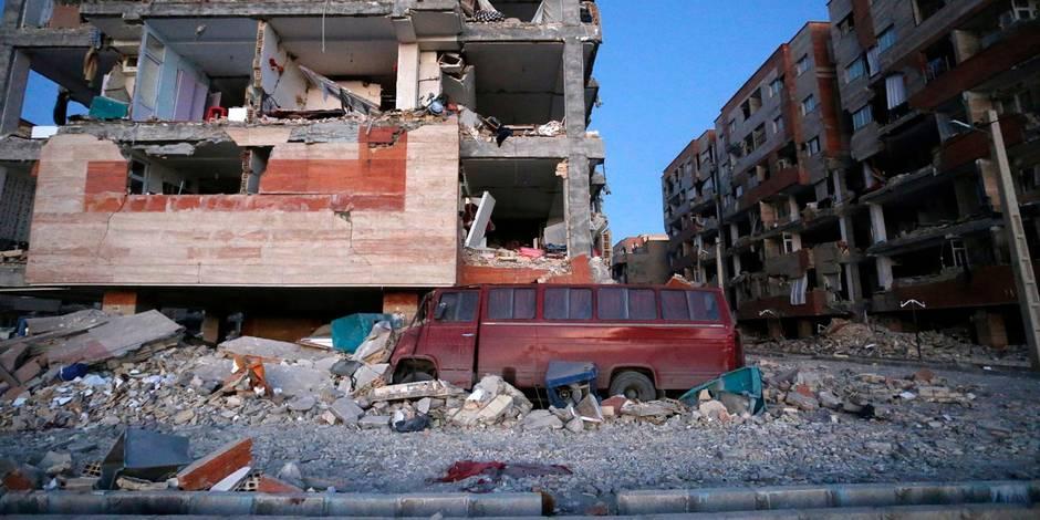 Un séisme de magnitude 6 — Iran