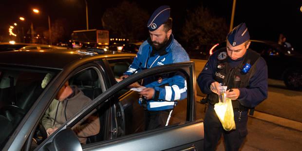 Course-poursuite nocturne dans les rues de Boussu - La DH