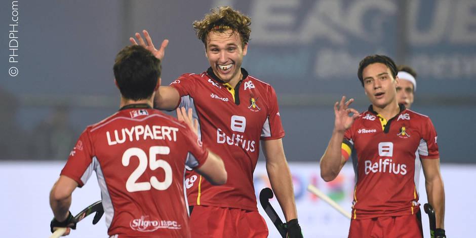 """Luypaert et Briels préfacent le choc Belgique - Pays-Bas en World League: """"On se motive l'un l'autre pour devenir meille..."""