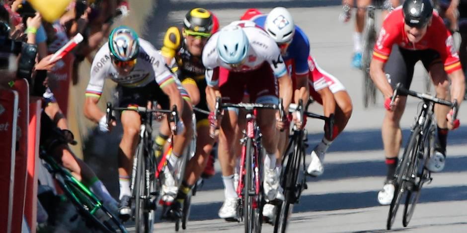 Sagan blanchi pour son accrochage au Tour