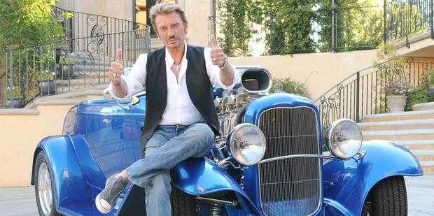 Johnny Hallyday, une star discrète qui dévorait la vie à Los Angeles - La DH