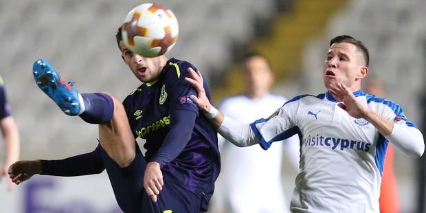 Les Belges à l'étranger: Everton, avec Mirallas, quitte l'Europa League avec une victoire à Apollon - La DH