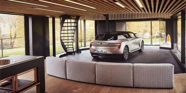 La Symbioz, ou quand la voiture devient... un meuble du living, voire une pièce de la maison (vidéo) - La DH