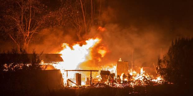 Incendie en Californie: Trump déclare l'état d'urgence - La DH