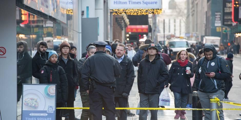 Explosion en plein cœur de Manhattan, un homme arrêté — New York