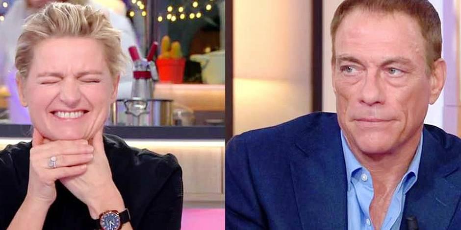 Jean-Claude Van Damme se lâche à la télé française