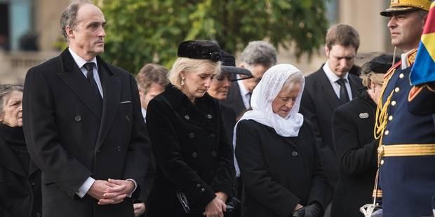 La princesse Astrid et le prince Lorenz se sont rendus aux funérailles de Michel de Roumanie - La DH