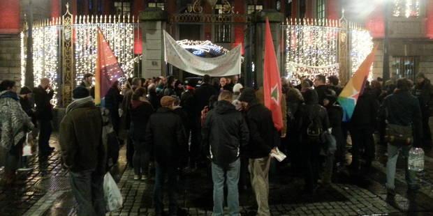Liège: ils manifestent pour les allocataires sociaux ! - La DH