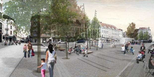 Etterbeek: La mue de la place Jourdan dès le 8 janvier - La DH