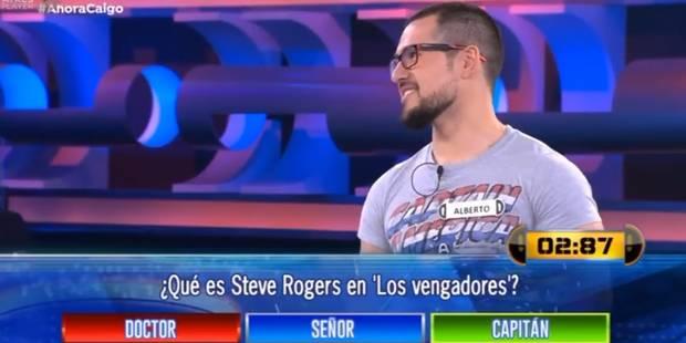 Il perd à un jeu télé alors que la réponse se trouve... sur son t-shirt (VIDEO) - La DH