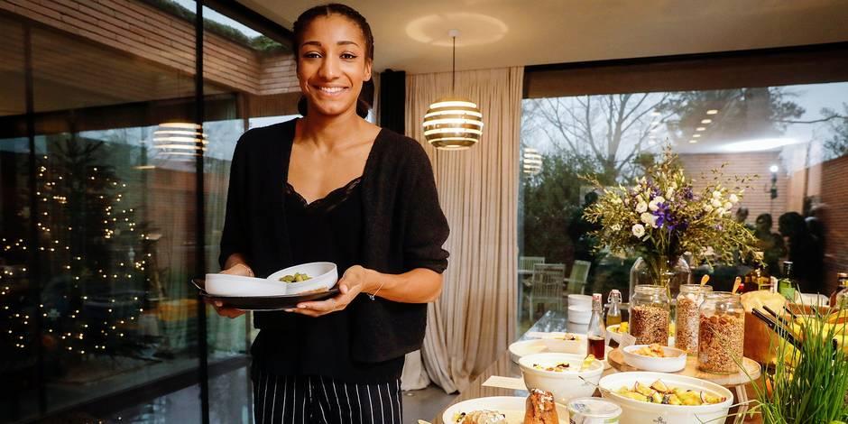 """Nafissatou Thiam: """"L'alimentation, c'est la première bonne habitude"""" - La DH"""