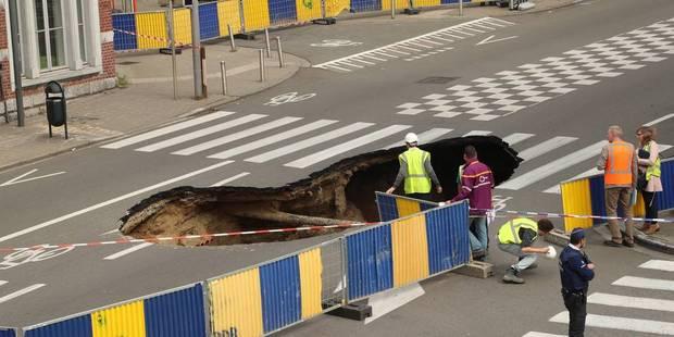 Rupture de canalisation à Saint-Josse: La chaussée de Louvain rouverte vendredi matin pour l'heure de pointe - La DH