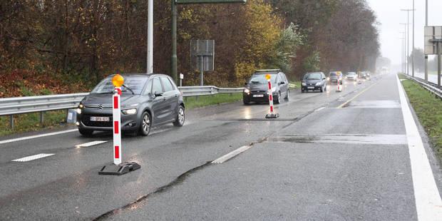 Chantier A8: la circulation rétablie sur les deux bandes entre Tubize et Hoves - La DH