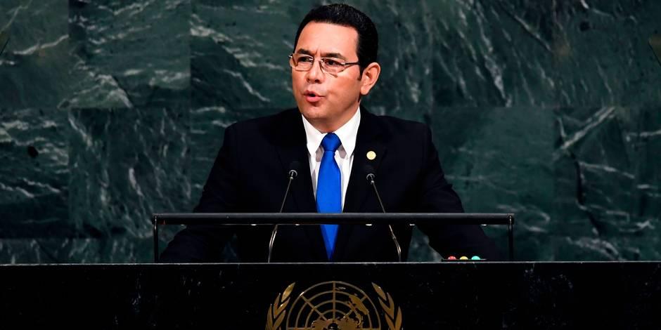 Le Guatemala adhère à la décision de Trump