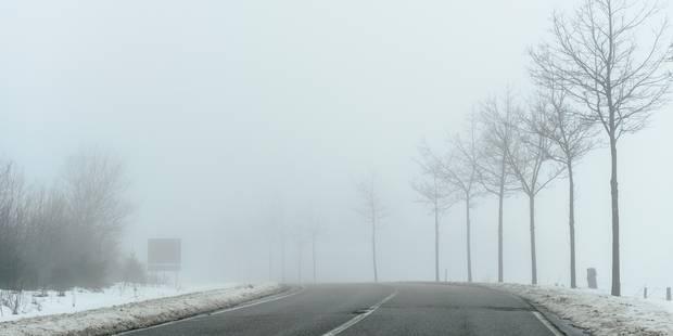 L'IRM lance une alerte verglas et neige pour les provinces de Liège et de Luxembourg - La DH