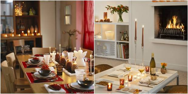 8 conseils simples mais efficaces pour une table de Nouvel an au top - La DH