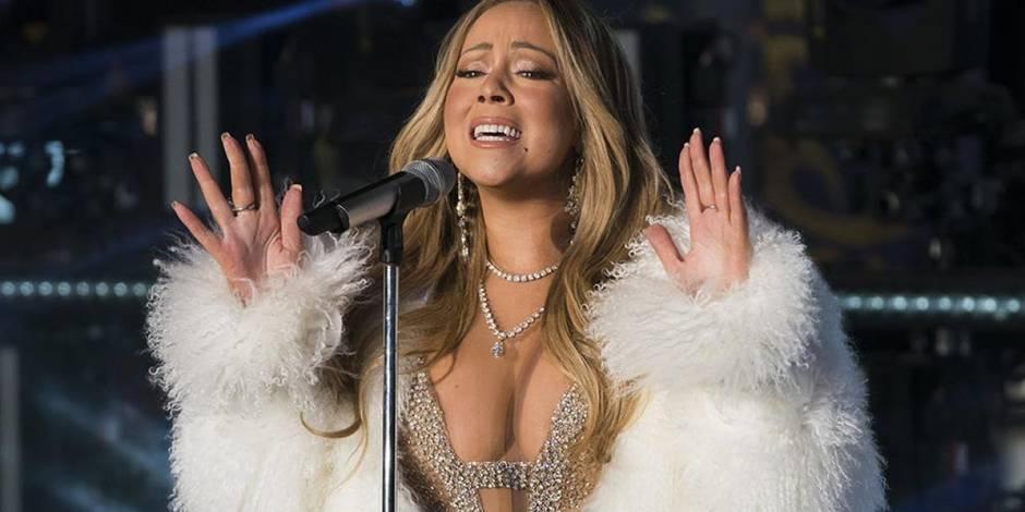 Radieuse sur Times Square pour le Nouvel An — Mariah Carey