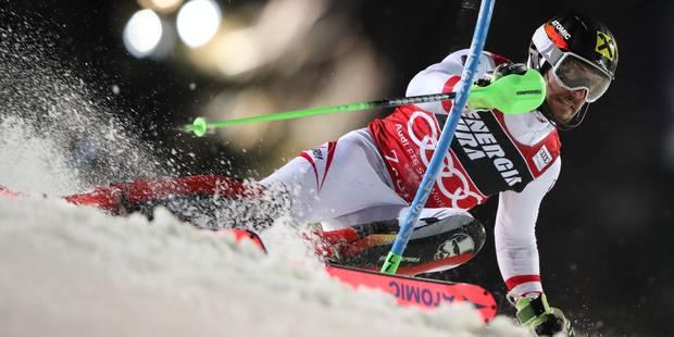 Coupe du monde de ski alpin : Marcel Hirscher décroche sa 50e victoire lors du slalom de Zagreb - La DH