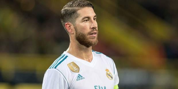 Blessé à un mollet, Sergio Ramos sera absent plusieurs semaines - La DH
