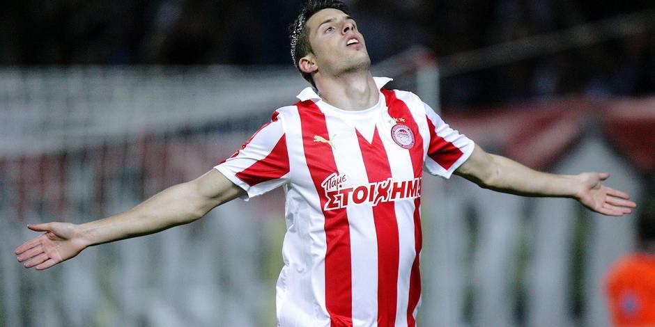 Kevin Mirallas de retour à l'Olympiakos