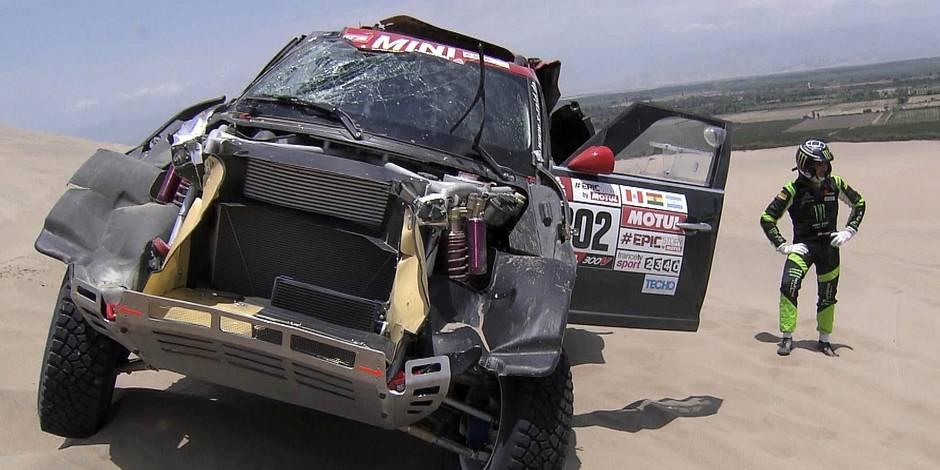 Nani Roma (Mini) abandonne au terme de la troisième spéciale du Dakar