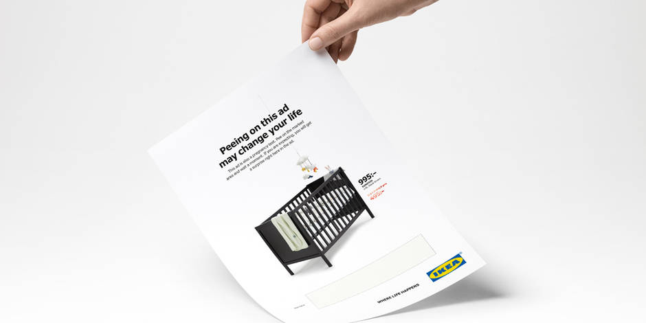 Le test de grossesse version IKEA