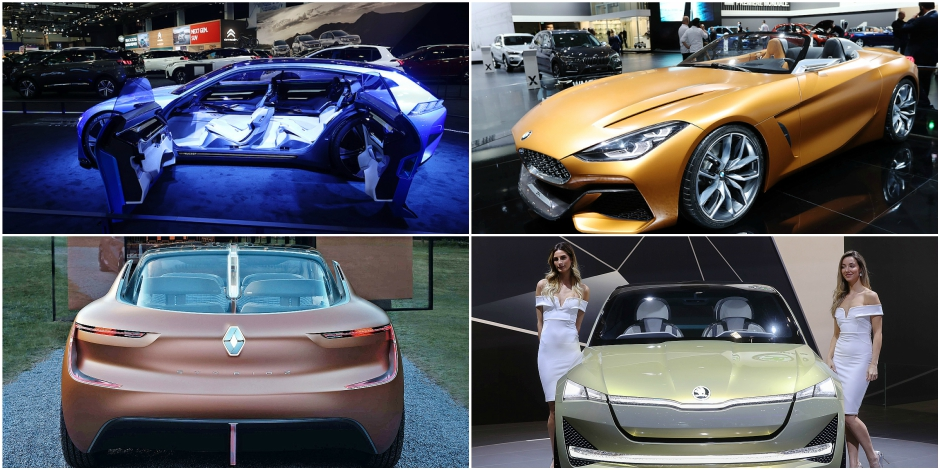 Salon de l'Auto: la folie des concept-cars et ce qu'ils sont devenus une fois produits en série (PHOTOS) - La DH