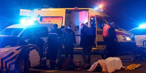 Ligne: La victime est âgée de 28 ans et a été éjectée de son véhicule par la vitre latérale - La DH