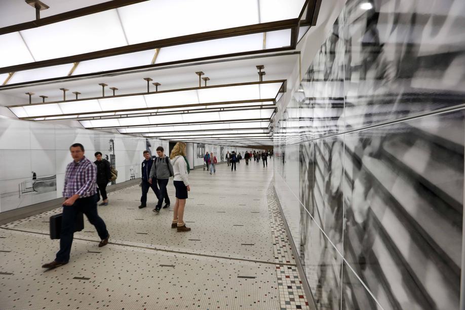 passage couloir bruxelles