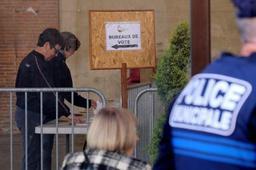 H présidentielle française des bureaux de vote