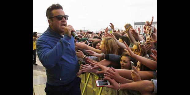Robbie Williams est à Bruxelles ! - La DH