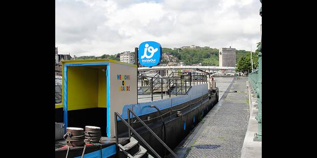 Liège: la péniche InsideOut est à vendre - La DH