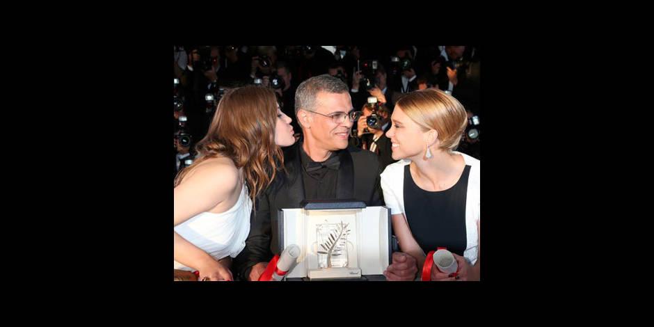 """Spielberg: """"La Vie d'Adèle, une très belle histoire d'amour"""""""