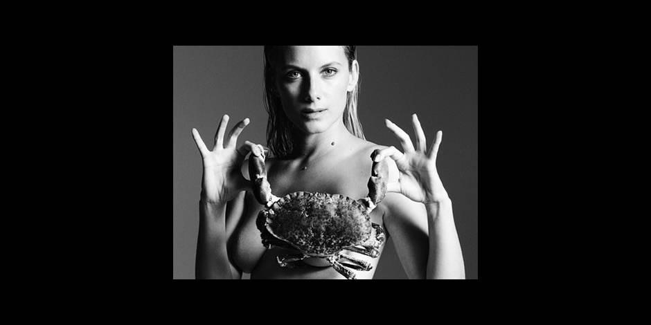 Mélanie Laurent nue pour l'amour des poissons