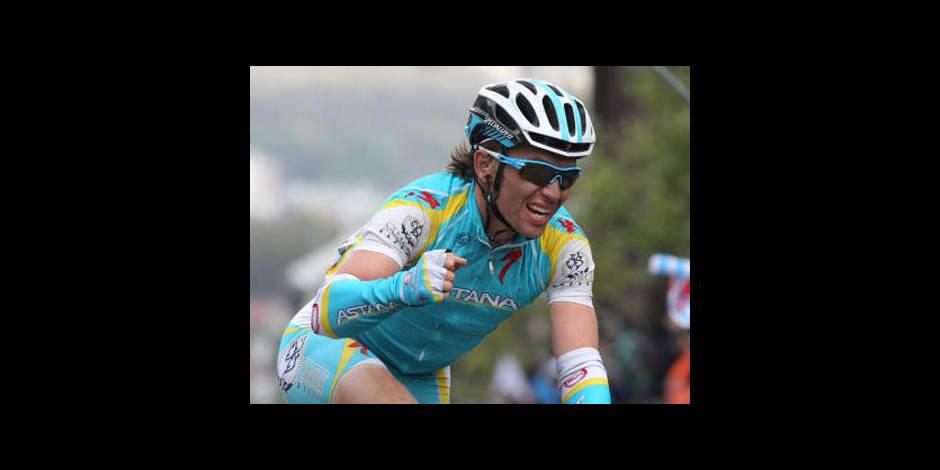 Tour de Belgique: victoire de Maxim Iglinskiy lors de la 4e étape
