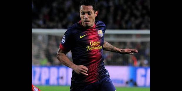 Adriano prolonge jusqu'en 2017 au Barça - La DH